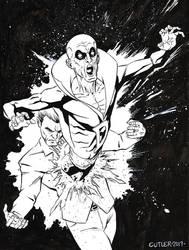 Inktober 2017 Day 5 - Deadman by davidjcutler