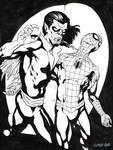 Inktober 2017 Day 7 - Morbius