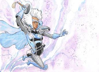 Storm, Goddess of Thunder by davidjcutler