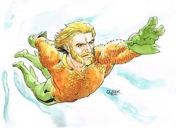 Aquaman by davidjcutler