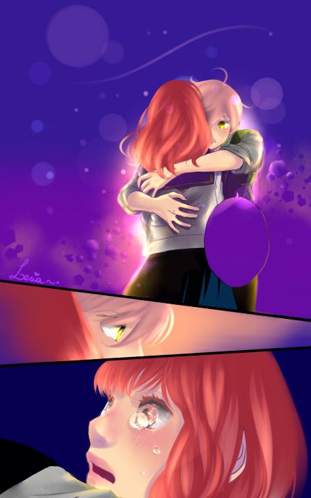 Omoi omoware Furi furare Yuna x Rio by Leria-r