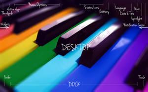 Blueprint Wallpaper for Mac OS X Yosemite 10.10.x by recoxblazer