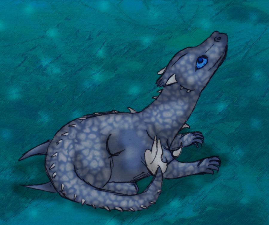 Baby Saphira by graciegra