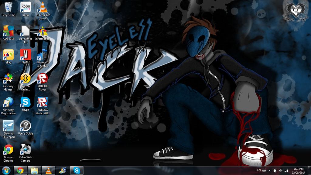 Eyeless Jack desktop by Shark-the-waterhog