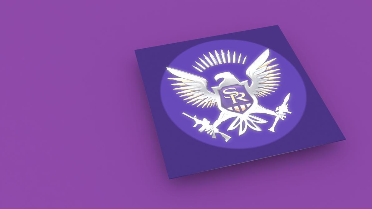 Saints Row IV Logo 3D Wallpaper by Binary-Map on DeviantArt