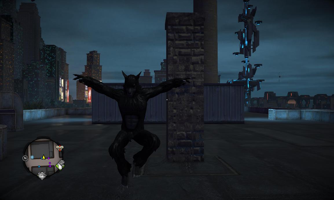 Saints Row IV - Super Werewolf by Binary-Map on DeviantArt