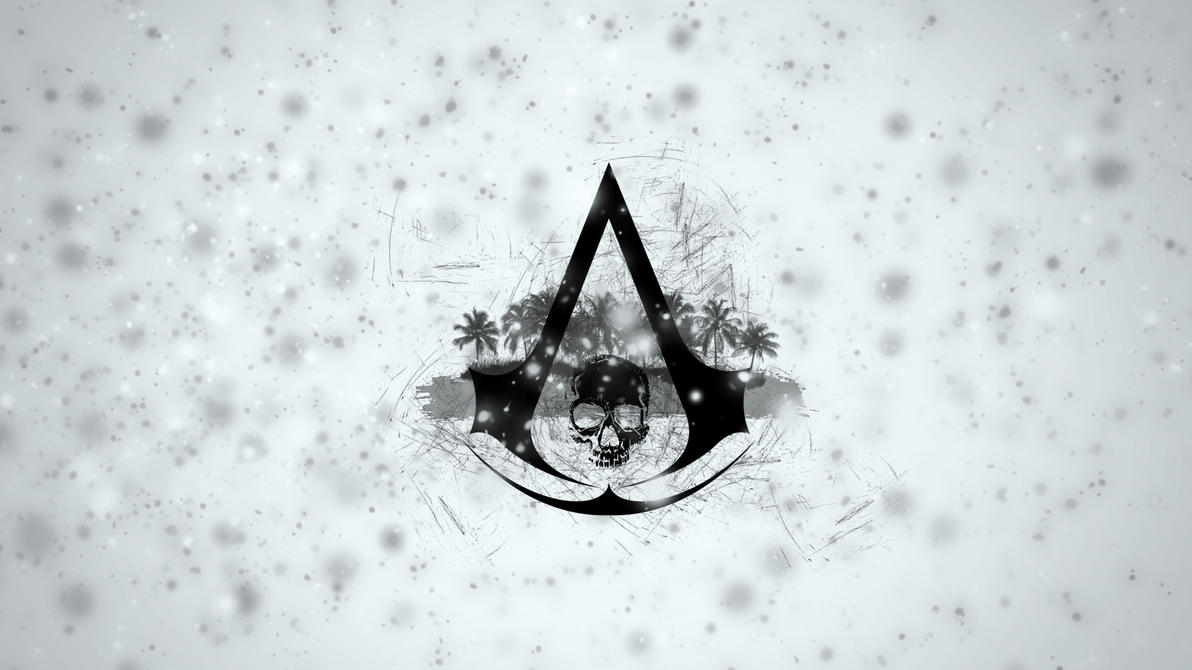 assassin's creed 4 black flag logo wallpaperbinary-map on deviantart