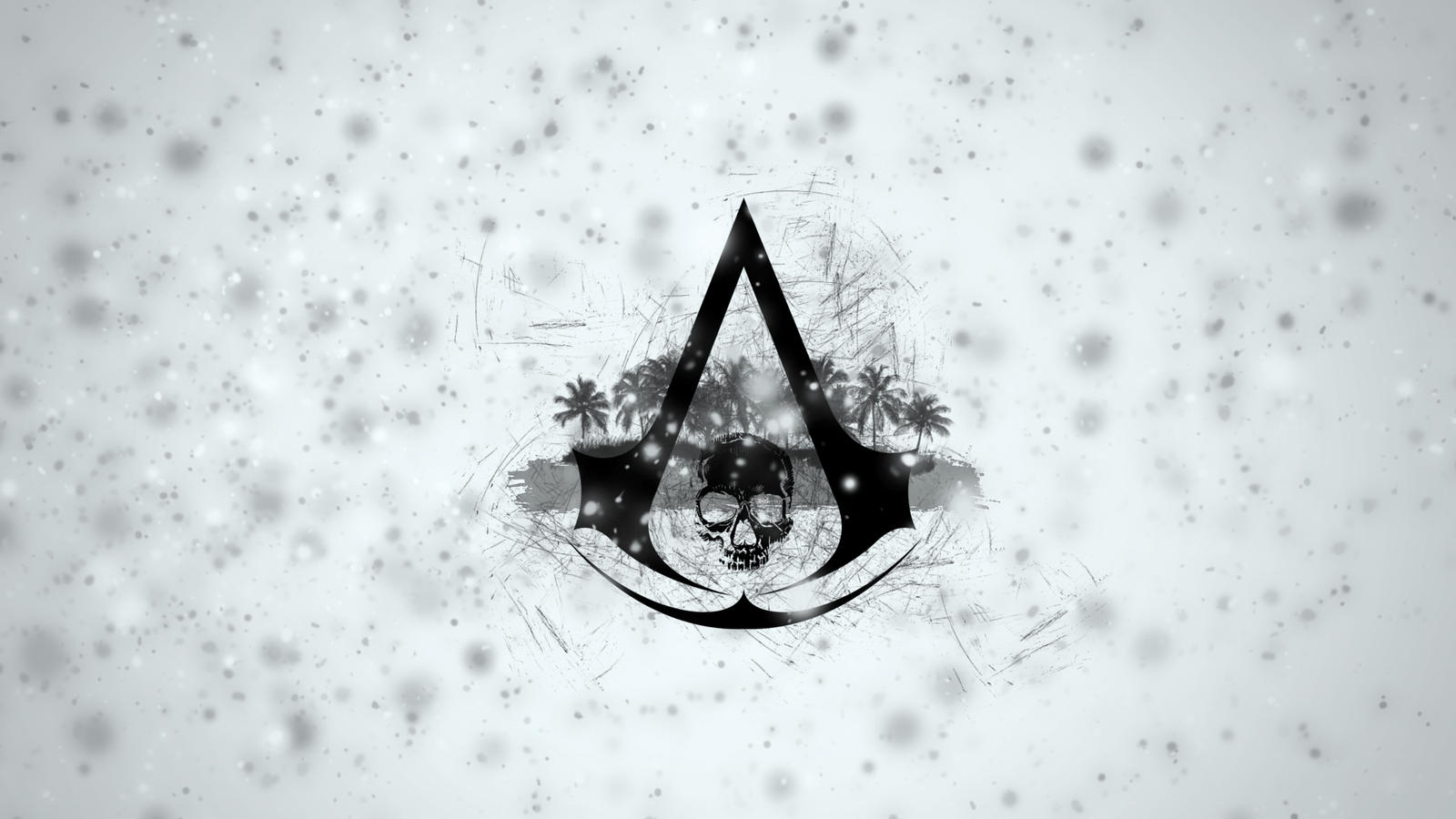 Assassin S Creed 4 Black Flag Logo Wallpaper By Binary Map On