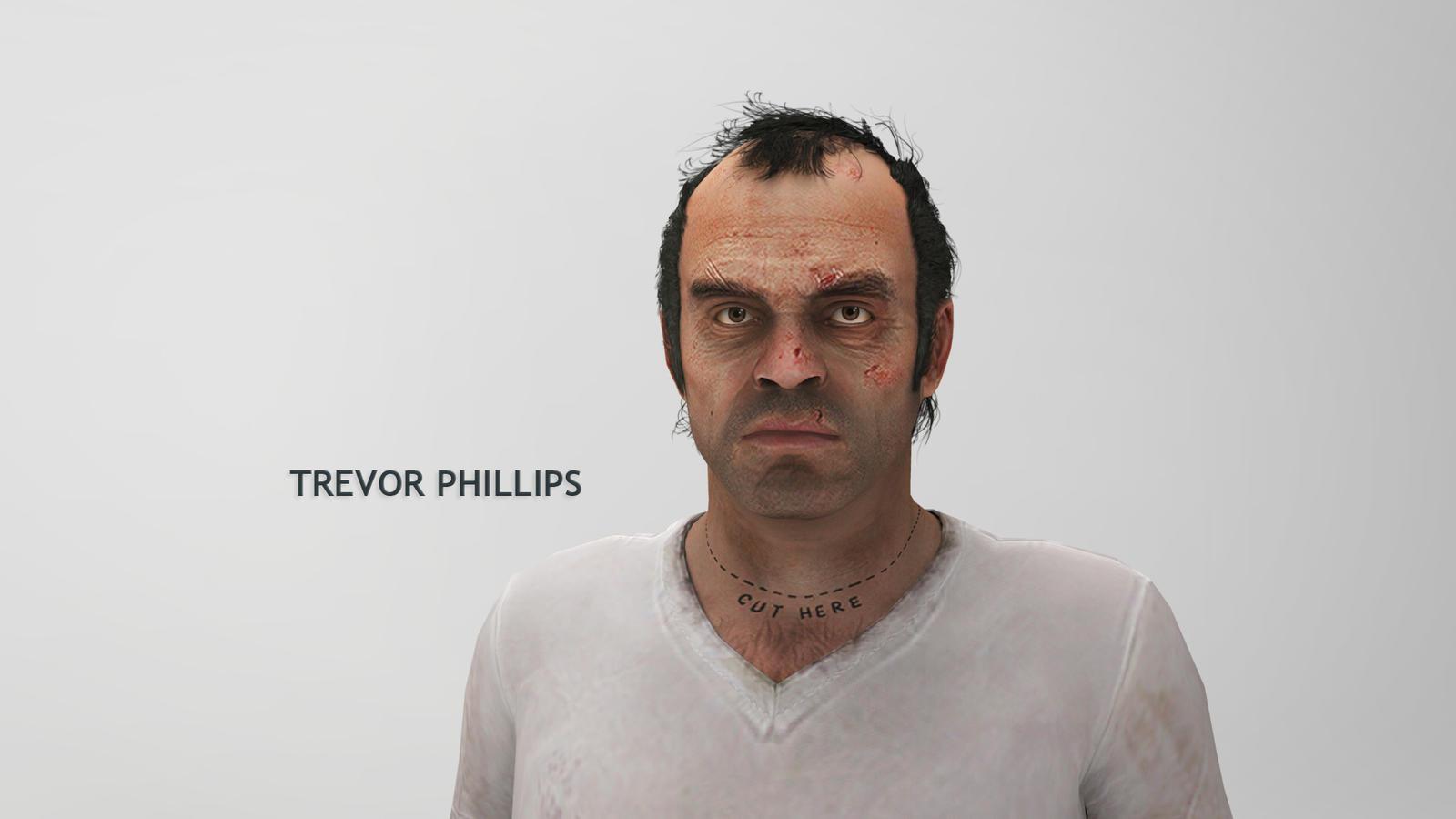 trevor phillips how tall