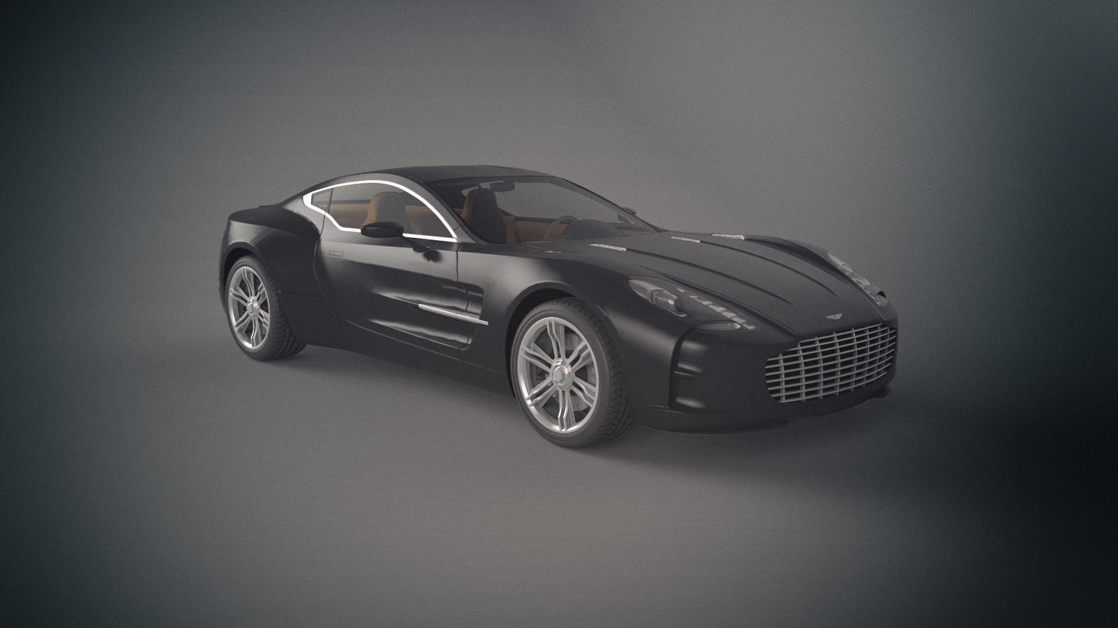 Aston Martin One 77 by Binary-Map