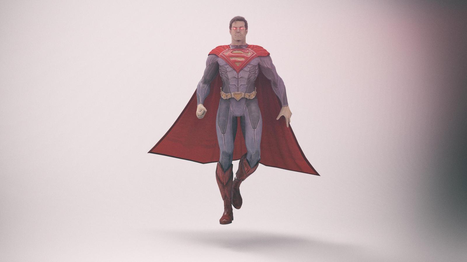 Superman by Binary-Map