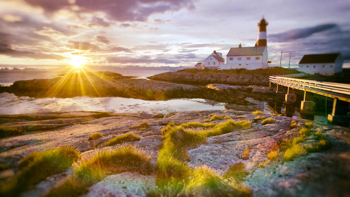 Norway Tranoy Lighthouse Hamaroy By BinaryMap On DeviantArt - Norway lighthouses map