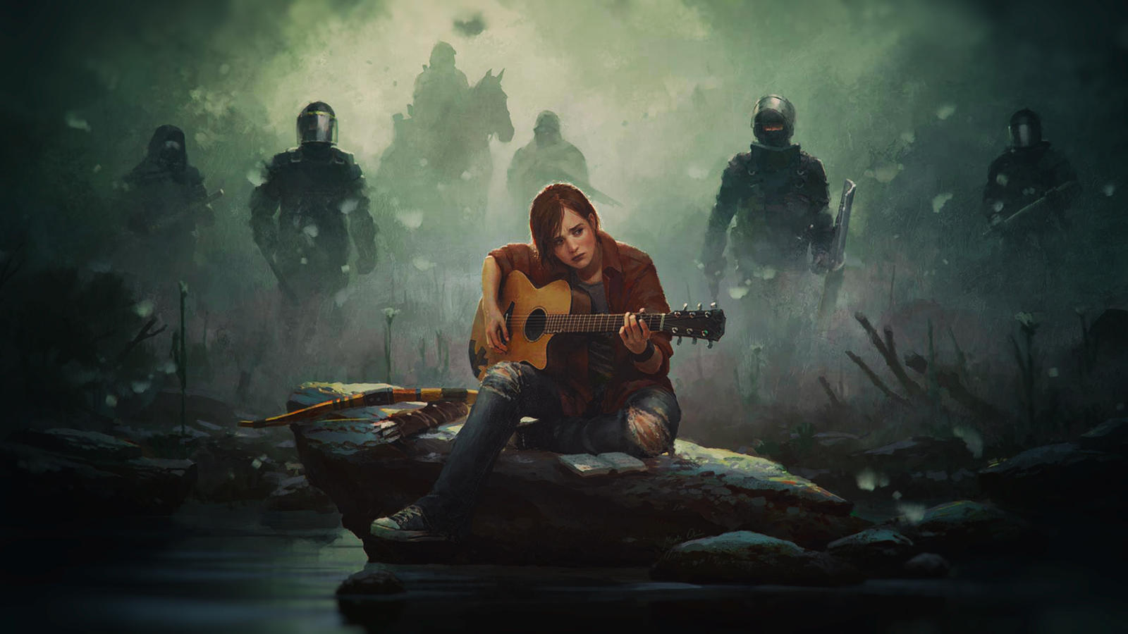 Ellie The Last Of Us Wallpaper: Moved To /r/TheLastofUs