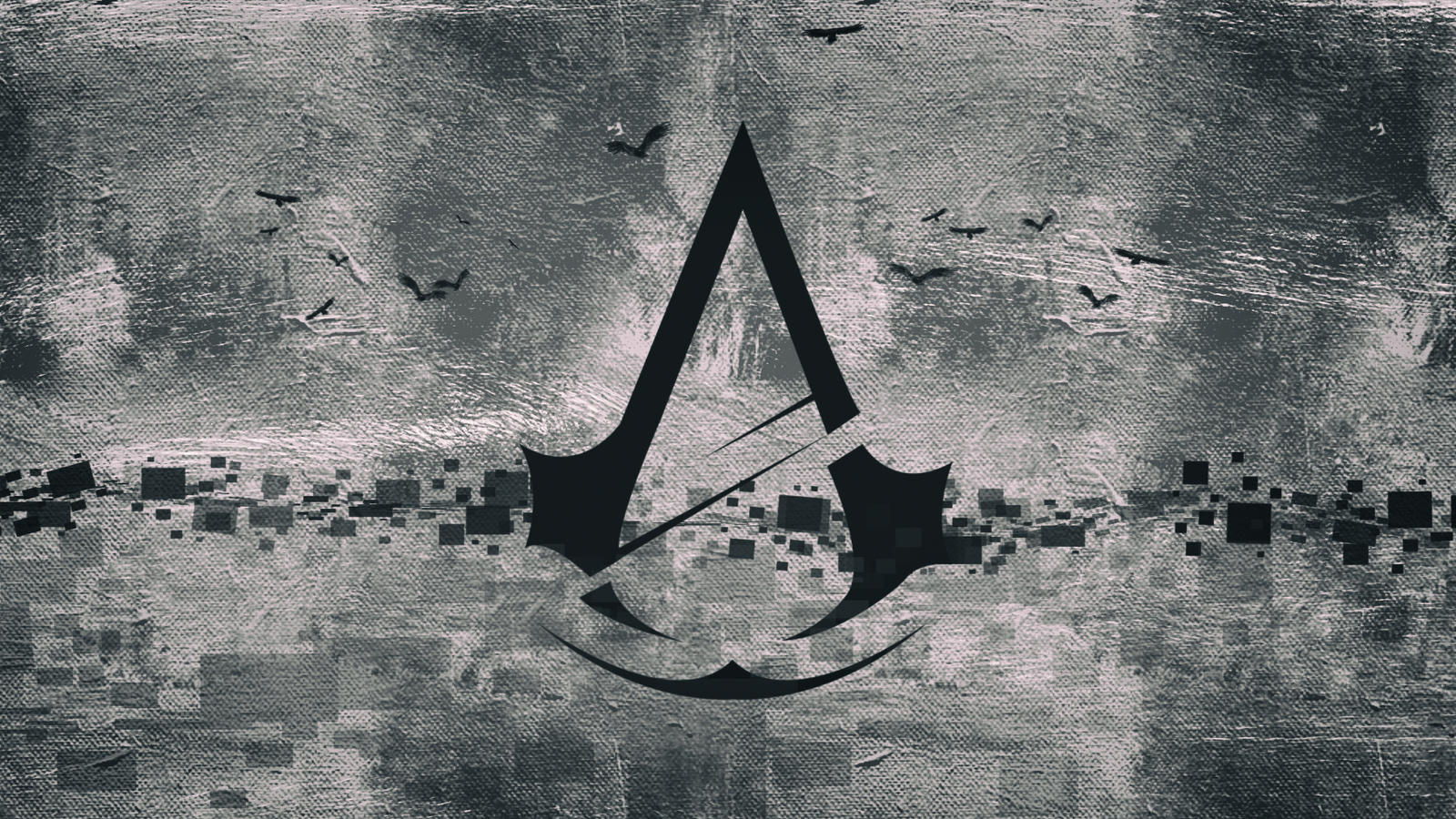 Assassins Creed Unity Black Wallpaper By Binary Map On