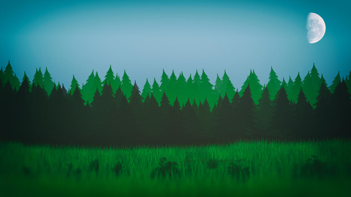 Cartoon Forest by Binary-Map on DeviantArt