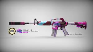 M4A1-S - NewRetroWave Skin
