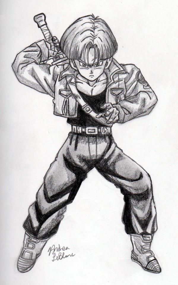 Trunks - Sketch #1 by Jaylastar