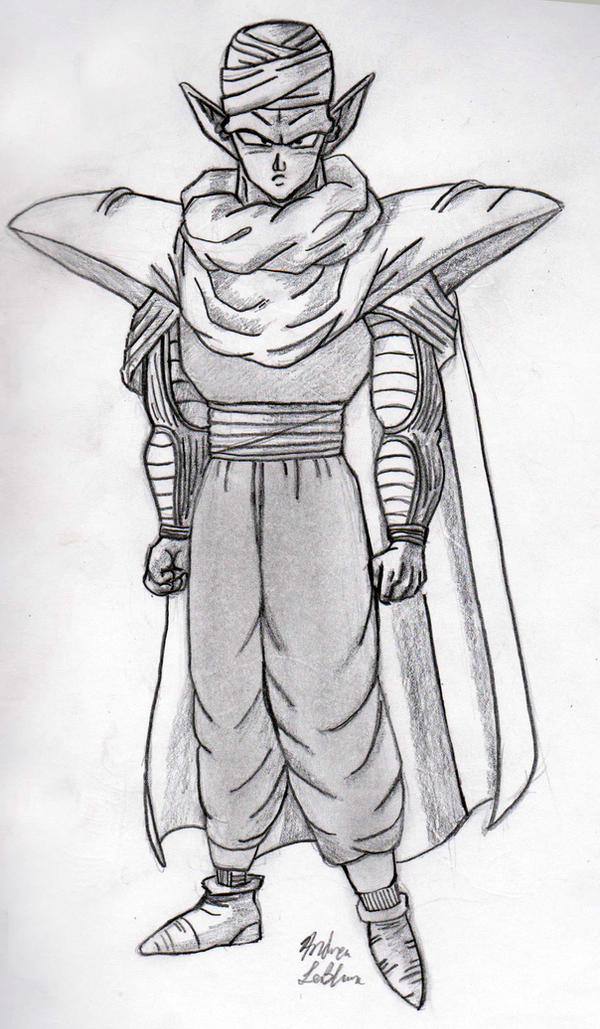 Piccolo - Sketch #1 by Jaylastar