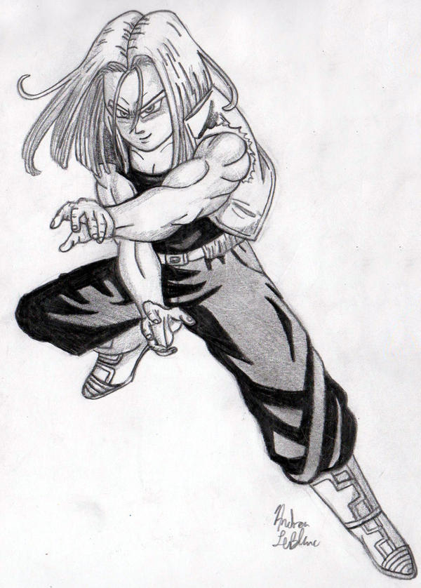 Trunks - Sketch #2 by Jaylastar
