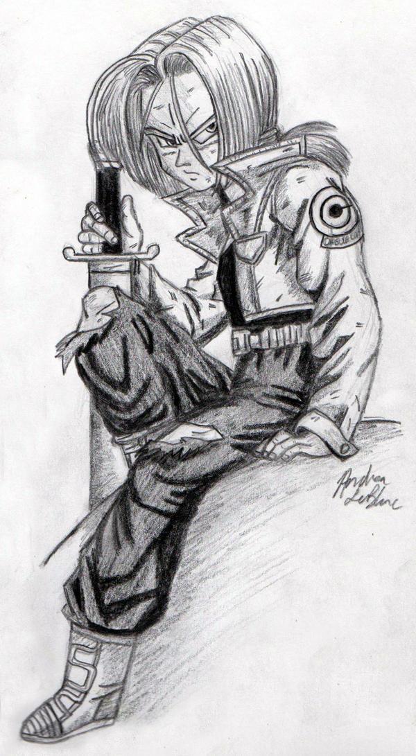 Trunks - Sketch #3 by Jaylastar