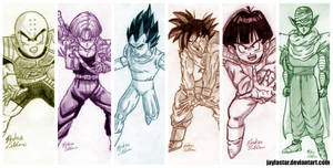 Jaylastar's DBZ Sketches