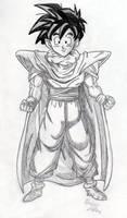 Gohan - Sketch #3 by Jaylastar