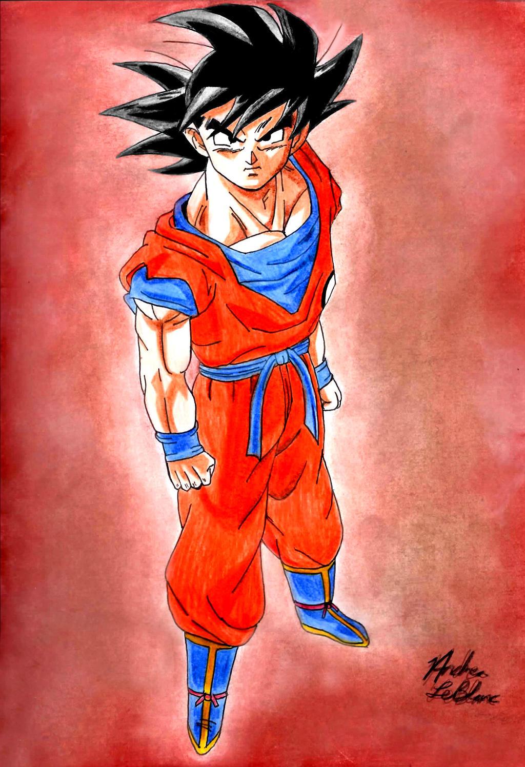 Goku by Jaylastar