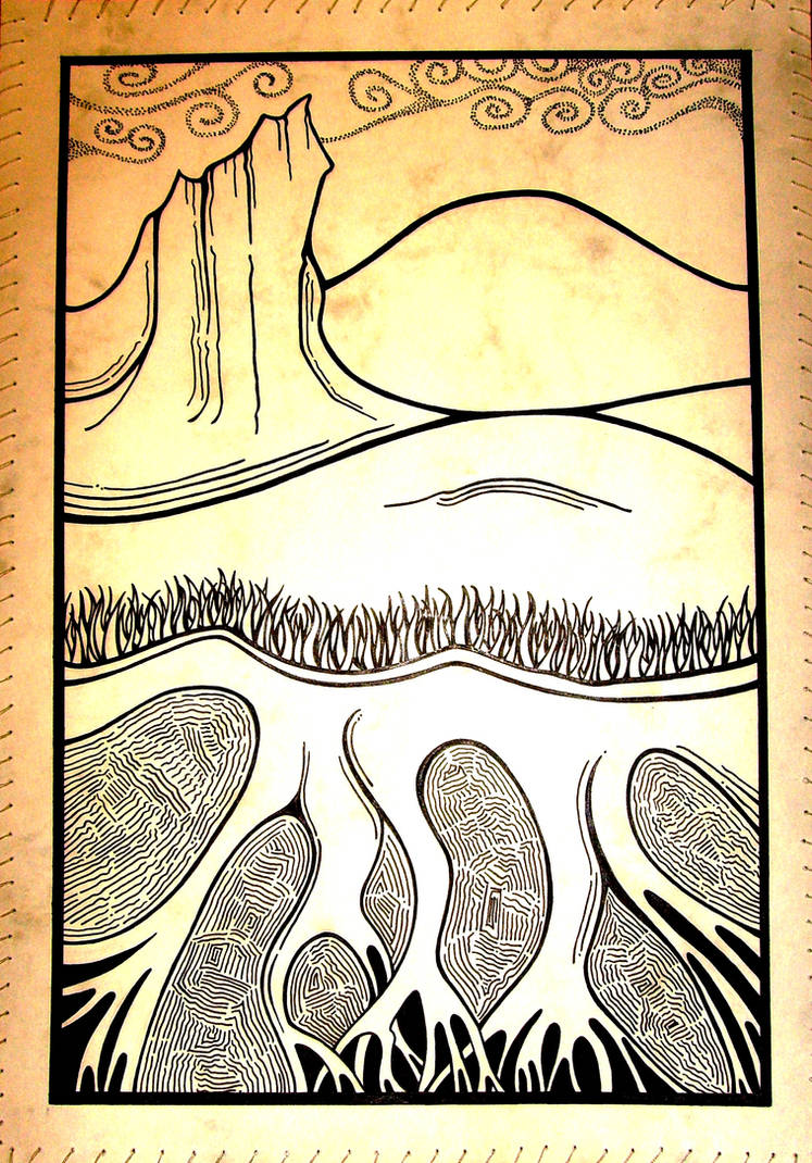 Ink Pattern Design by epitman12