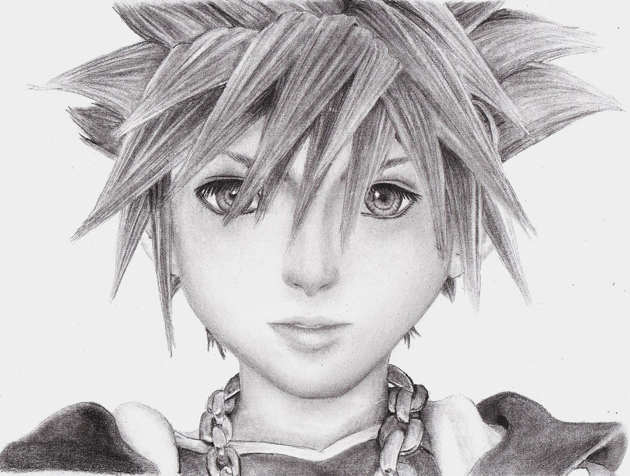 Sora Face Drawing
