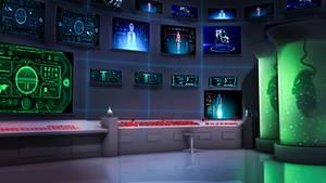 Visual Novel bg 2: Laboratory