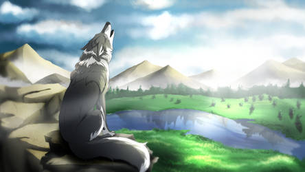 Wild Wolf (HD Download) by EpicSaveRoom