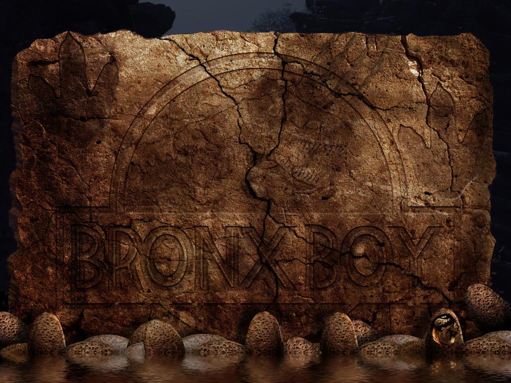 Bronx Boy Ancient Wall by bobbyboggs182