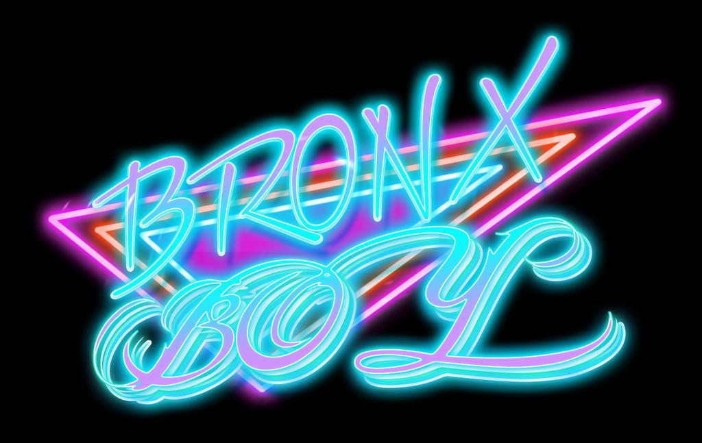 Bronx Boy Retro Neon by bobbyboggs182