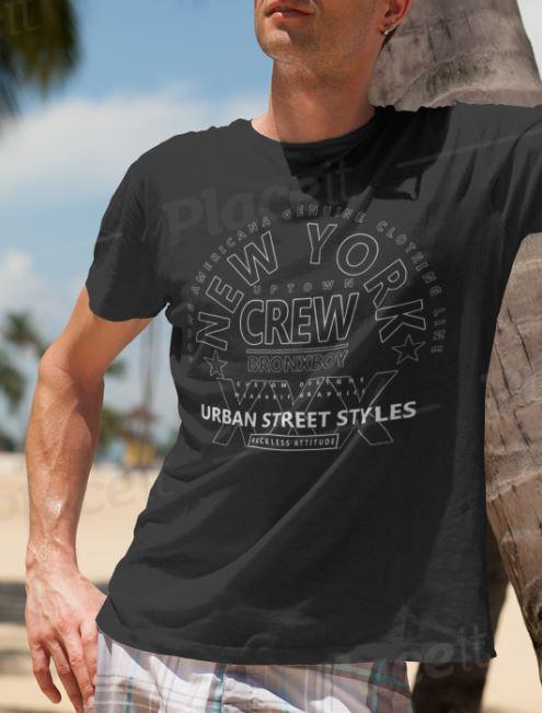 Bronx Boy At The Beach T-Shirt