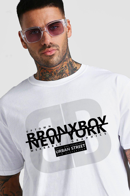 Uptown Bronx Boy T-Shirt Guy