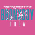 Bronx Boy Wearable Graphics Crew