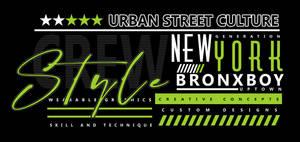 Bronx Boy Active Street Wear