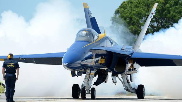 PENSACOLA, Fla. (May 9, 2013) U.S. Navy Flight Dem