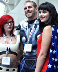 Cosplay at the 2013 Comic-Con International in San by GraphisLimitedEdi