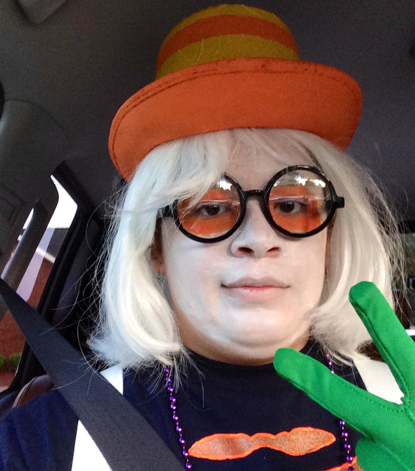 Sir Friddle Diddle heading to Dragoncon! by catscater51