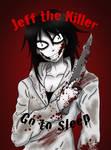 My version of Jeff The Killer by darkangel6021