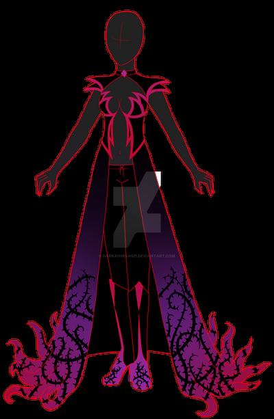 Dark Nemesis New Outfit Design By Darkangel6021
