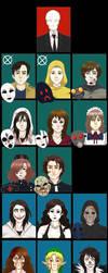 Creepypasta Fandom Crew By T-Time07 by darkangel6021