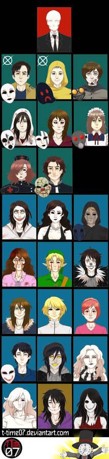 Creepypasta Fandom Crew By T-Time07