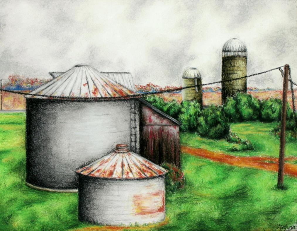 The Farm by ADHD-art