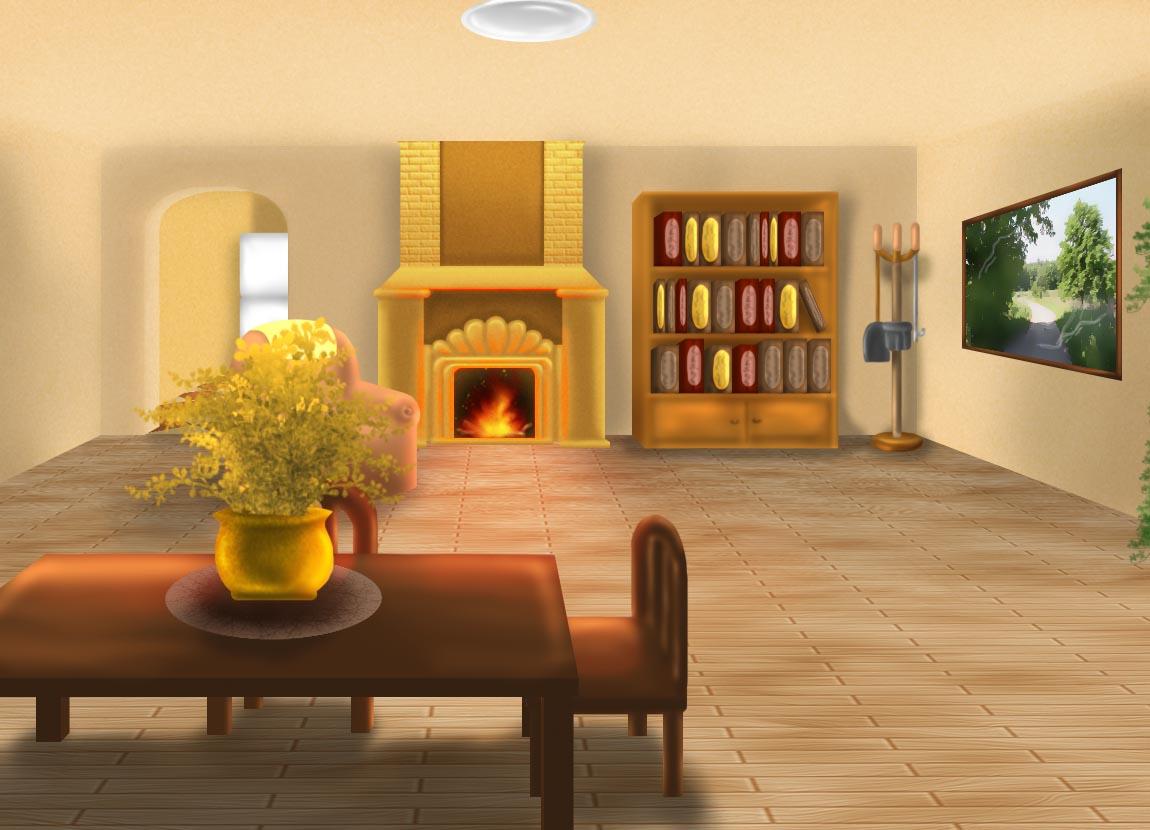 Undertale Toriel S Living Room