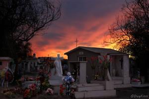 Monclova Cemetery 1 by DugFinn