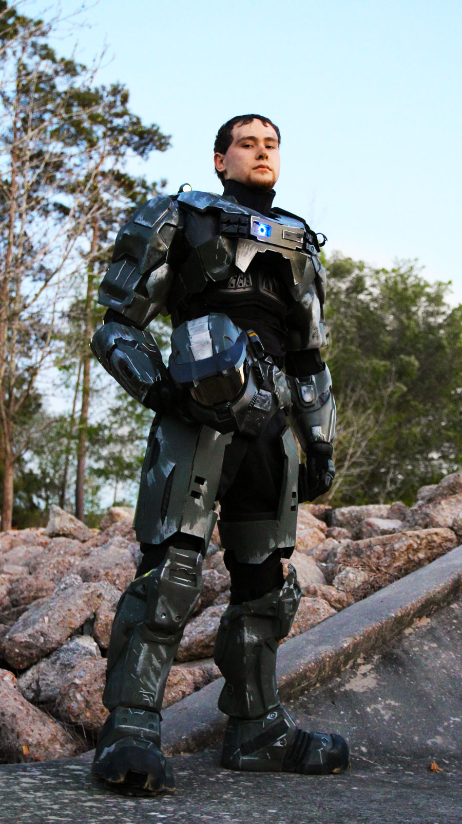 Master Chief - John Wayne - Halo by DugFinn