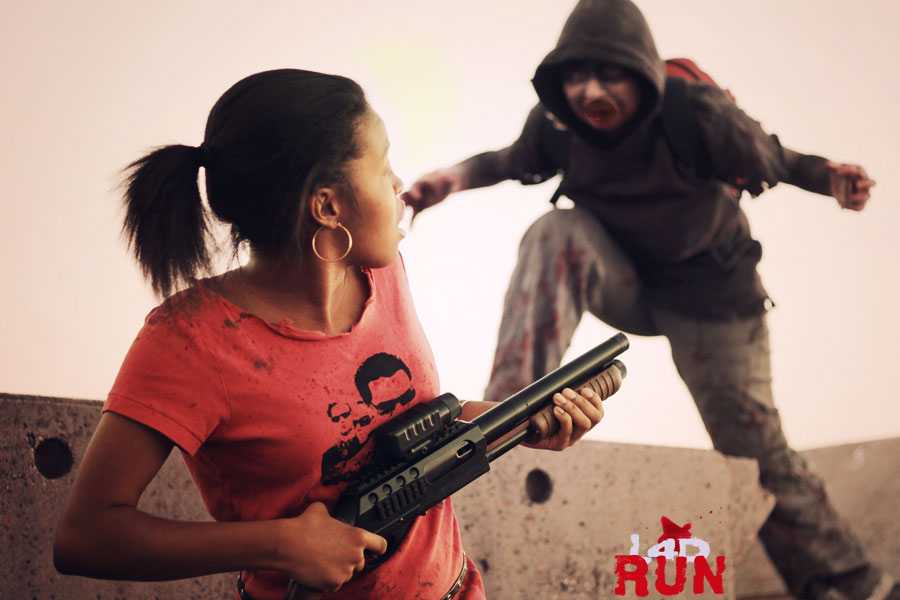 L4D Run - Rochelle 4 by DugFinn