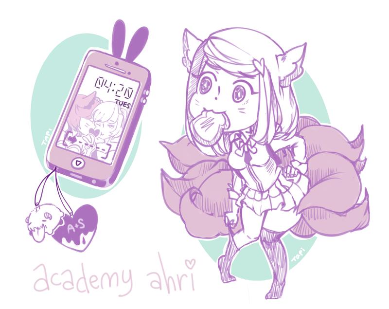 Academy Ahri by tapiLI